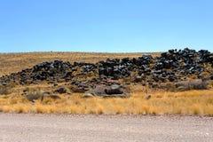 Fantastic Namibia desert landscape Royalty Free Stock Image