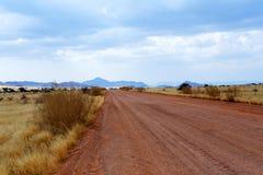 Fantastic Namibia desert landscape Royalty Free Stock Images