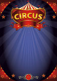 Fantastic night circus poster Royalty Free Stock Image