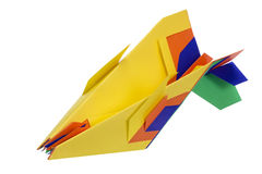 Fantastic paper airplane Royalty Free Stock Photography