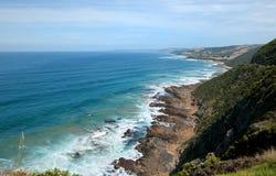 Fantastic paradise wild beach. Great Ocean Road, Australia, Victoria, National park royalty free stock photo