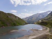 Austrian alphs lake stock photography