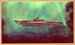 Free Fantastic Pirate Submarine Royalty Free Stock Photos - 105397748