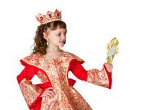 The fantastic princess Royalty Free Stock Photo