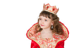 The fantastic princess Stock Photography