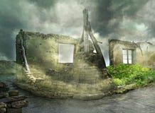 Fantastic ruins Royalty Free Stock Images