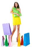 Fantastic shopping Stock Photo