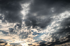 Fantastic Sky Royalty Free Stock Photos