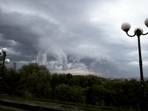 Fantastic sky landscape Stock Photo