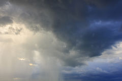 Fantastic sky. And rain cloud stock images