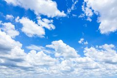 Cloudscape with Blue Sky royalty free stock images