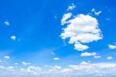 Cloudscape with Blue Sky royalty free stock photos