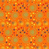 Fantastic spirals creative pattern. Digital design for print, fabric, fashion or presentation Stock Images