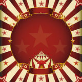 Fantastic square circus Stock Image