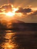 Fantastic sunrise Royalty Free Stock Images