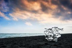 Fantastic sunset on the Atlantic coast. Royalty Free Stock Image
