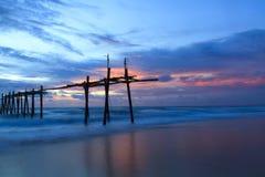 Fantastic sunset Stock Photos