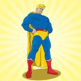 Fantastic Superhero Royalty Free Stock Photo
