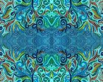 Fantastic thread pattern Stock Image