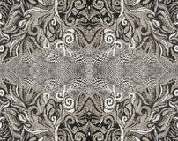 Fantastic thread pattern. Computer processing of photos stock photography