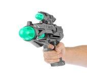 Fantastic toy gun Stock Photo