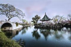 Spring of Li Garden Stock Photo