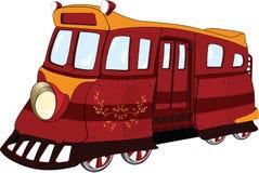 Free Fantastic Tram. Cartoon Royalty Free Stock Photography - 18979407