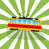 The fantastic Tramcar Royalty Free Stock Photos
