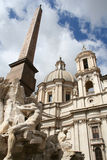 Fantastic Trevi Fountain in Rome / Italy. This is the fantastic Trevi Fountain in Rome / Italy Stock Photos