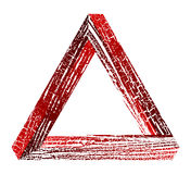 Fantastic triangle Royalty Free Stock Image