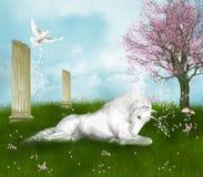 Fantastic unicorn royalty free stock image