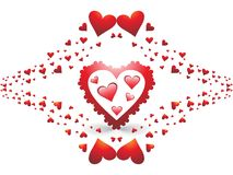 Fantastic valentine's day Royalty Free Stock Image