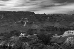 Fantastic view into the grand canyon from mathers point. South rim stock photography