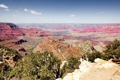 Fantastic View, View of Grand Canyon. royalty free stock images