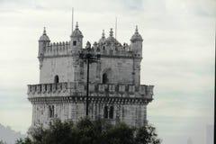 Fantastic view of Lisbon, Portugal, Belem Royalty Free Stock Image