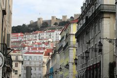 Fantastic view of Lisbon, Portugal Stock Photography