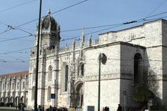Fantastic view of Lisbon, Portugal Royalty Free Stock Photos