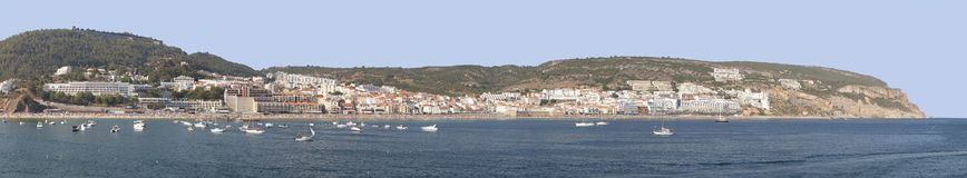 Fantastic view from the port in Sesimbra, Portugal