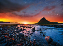 Fantastic views the landscape of Iceland Royalty Free Stock Photos
