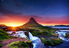 Fantastic views the landscape of Iceland Stock Photo
