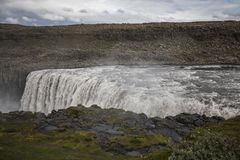 Fantastic views of selfoss waterfall in the national park vatnaj. Okull on iceland Stock Image