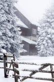 Fantastic winter landscape Royalty Free Stock Photo