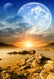 Fantastic worlds Stock Images