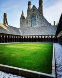 Fantastical foto van Mont Saint-Michel stock foto