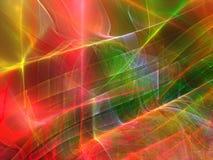 Fantastisch fractal ontwerp Stock Foto