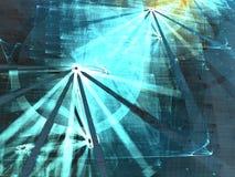 Fantastisch fractal ontwerp Stock Afbeelding