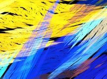 Fantastisch fractal ontwerp Royalty-vrije Stock Foto's