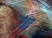 Fantastisch fractal ontwerp Stock Afbeeldingen