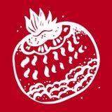 Fantastisch fruit Grafische illustratie Stock Fotografie