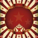 Fantastisch vierkant circus Stock Afbeelding